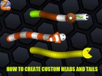 How To Create Custom Slither.io Heads & Tails