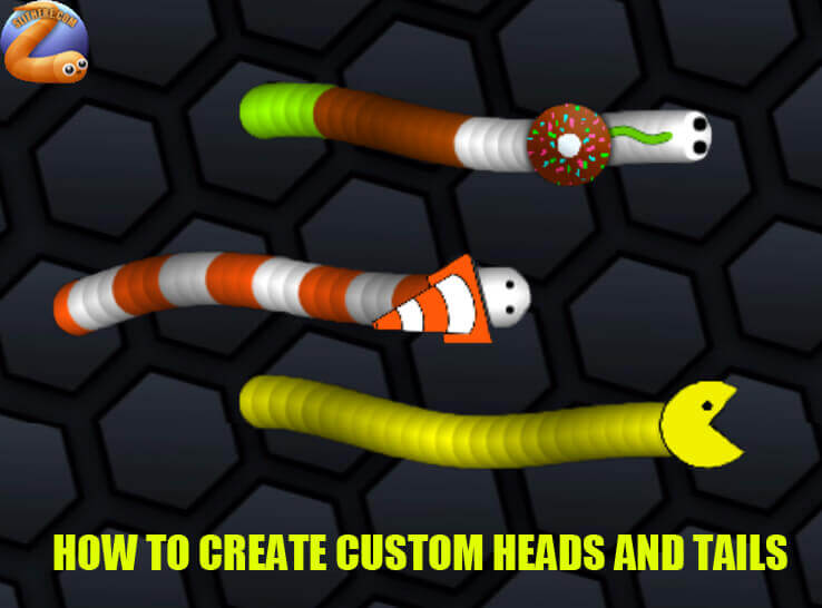 How To Create Custom Slither.io Heads & Tails?