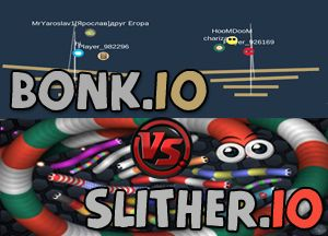 Slither.io Vs Bonk.io