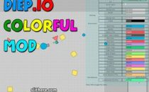 Diep.io Mods Colorful Skins & Tricks