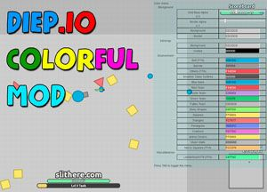 Photo of Diep.io Mods Colorful Skins & Tricks