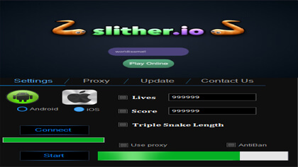 how to get slither.io hack