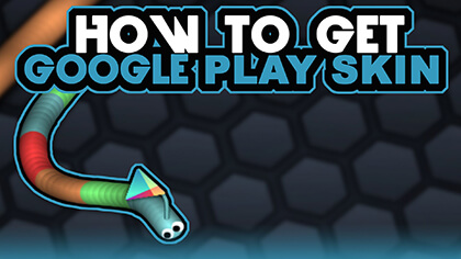 how to get slither.io skins