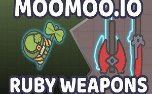 moomoo.io ruby weapons