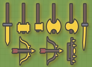 Photo of Moomoo.io Weapons List