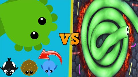 slither.io vs mope.io