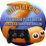 Slither.io Play With Play Station 4 Controller, PS4 Control out now!
