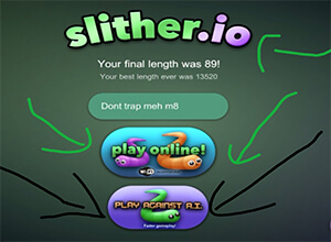 Photo of Details Of Slither.io AI Mode