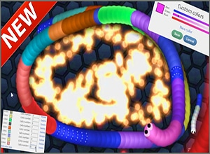 slither.io with skins