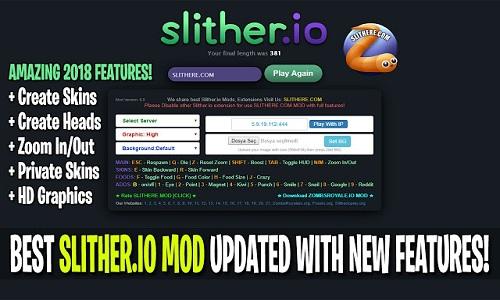 slitherio mod