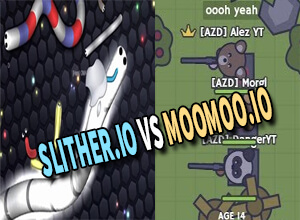 Photo of Slither.io Vs MooMoo.io