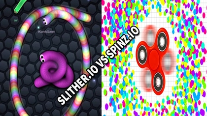 slither.io vs spinz.io
