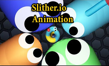 slither.io animation