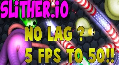 slither.io laggy game
