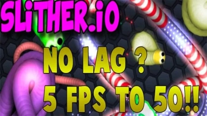 how to make slither.io less laggy