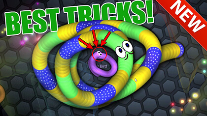 slither.io tricks