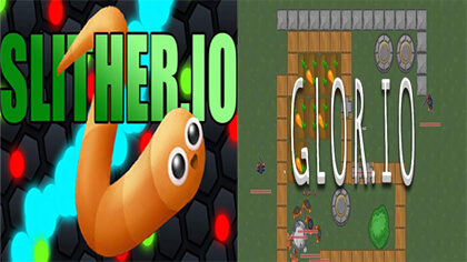 slither.io vs glor.io