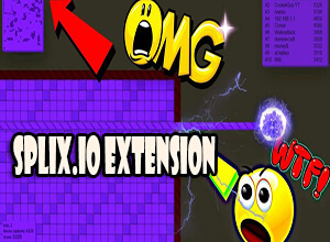 Splix io Extension and Mods - Slither io Game Guide