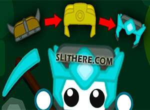 Photo of Starve.io Gold Helmet