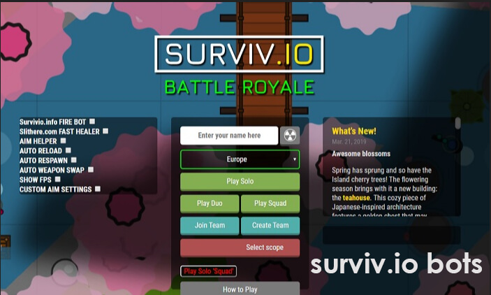 Surviv io Bot Extension - Slither io Game Guide