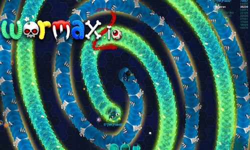 Wormax2.io unblocked game